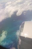 Corals visible from the Air